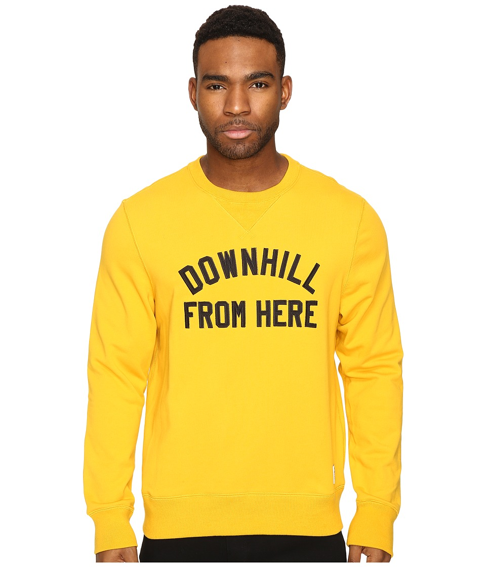 HUF - DFH Crew Fleece (Mustard) Men's Sweater