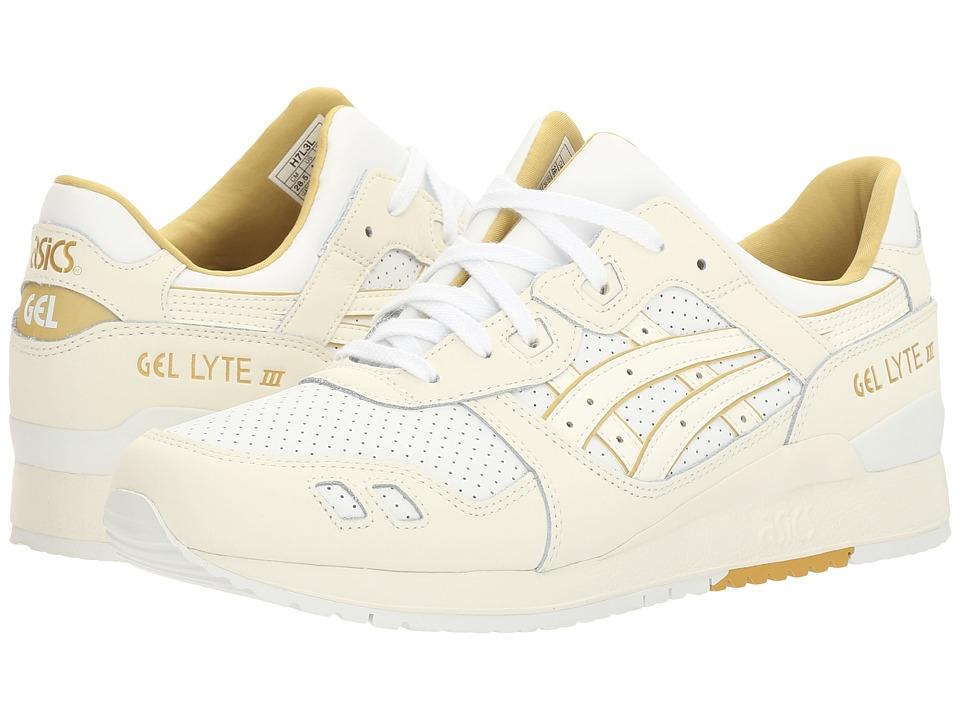 ASICS Tiger - Gel-Lyte(r) III (White/Cream) Men's Shoes