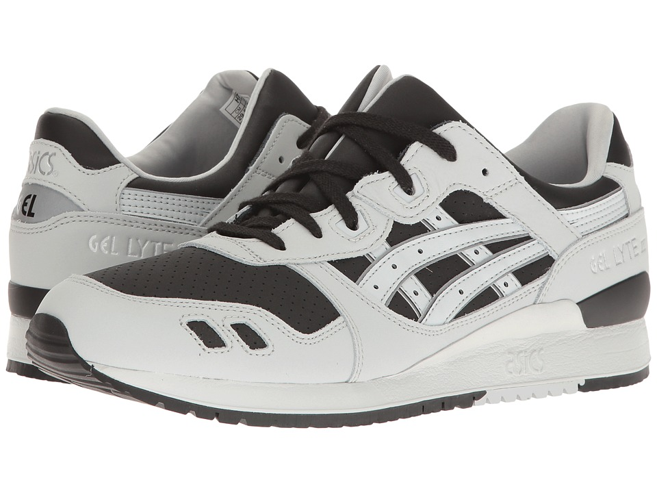 ASICS Tiger - Gel-Lyte(r) III (Black/Glacier Grey) Men's Shoes