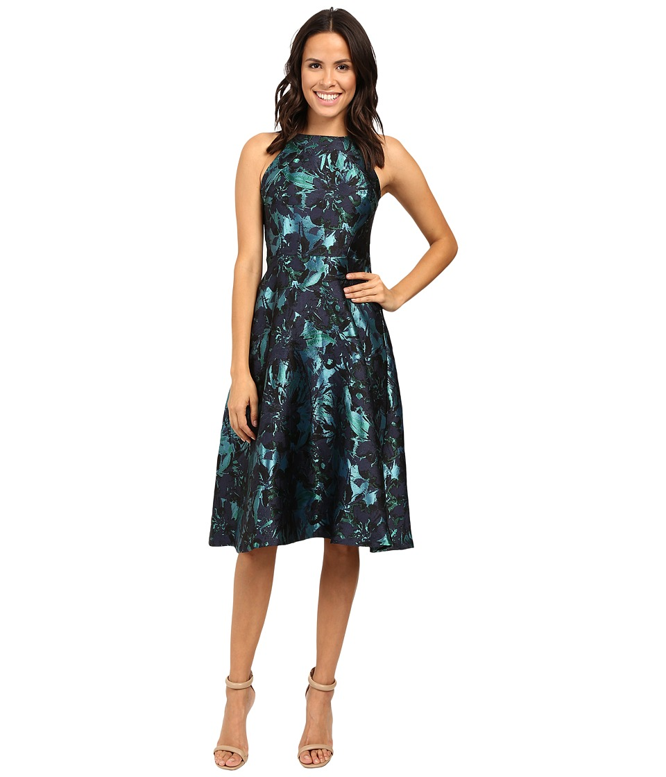 Eva by Eva Franco - Jack Dress (Navy/Turquoise) Women's Dress