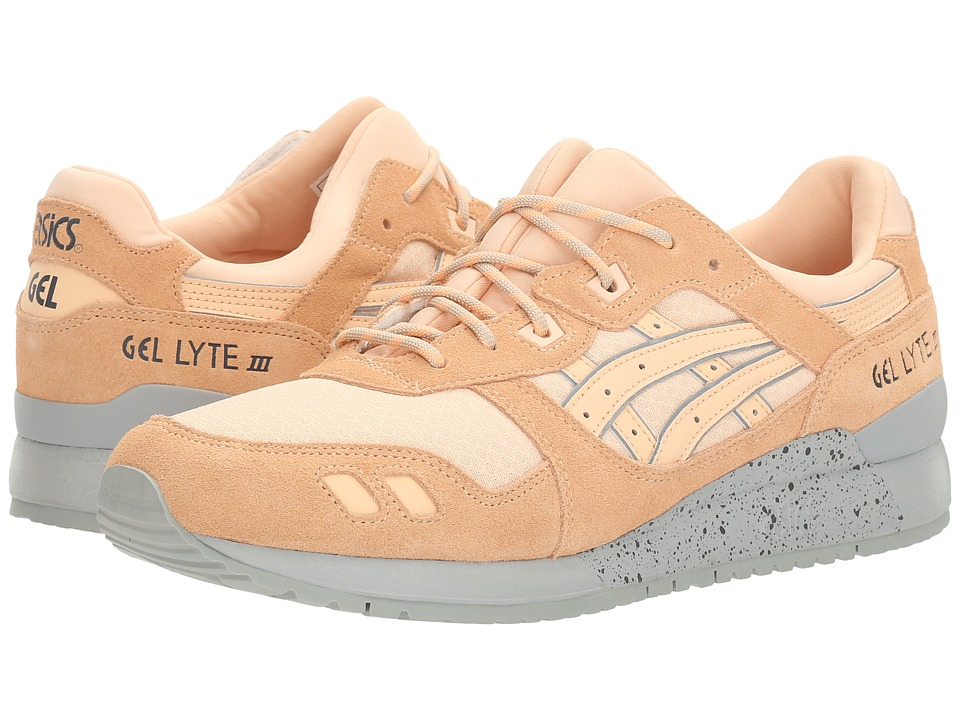 ASICS Tiger - Gel-Lyte(r) III (Bleached Apricot/Bleached Apricot) Men's Shoes