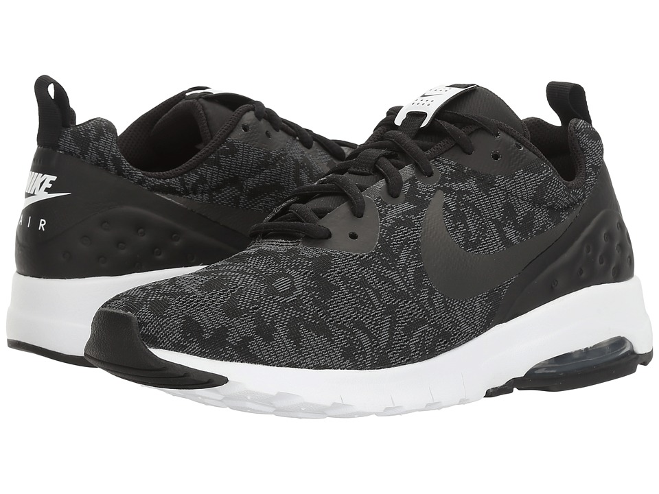 Nike - Air Max Motion LW ENG (Black/Black/White/Racer Pink) Women's Shoes