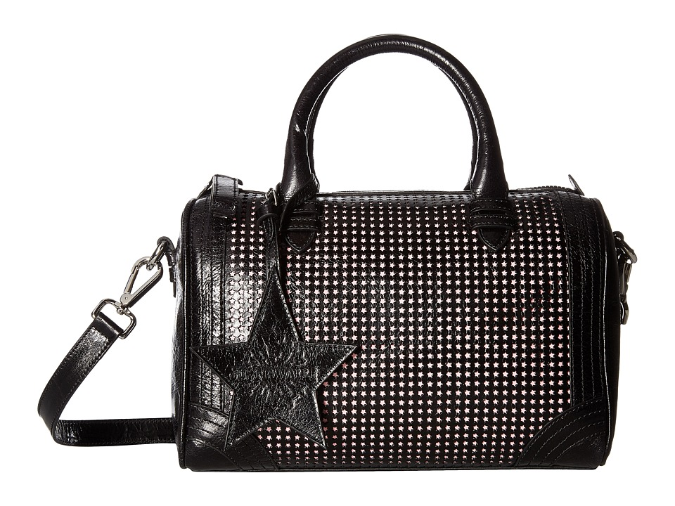 Just Cavalli - Cow Leather w/ Studs Bag (Black) Handbags