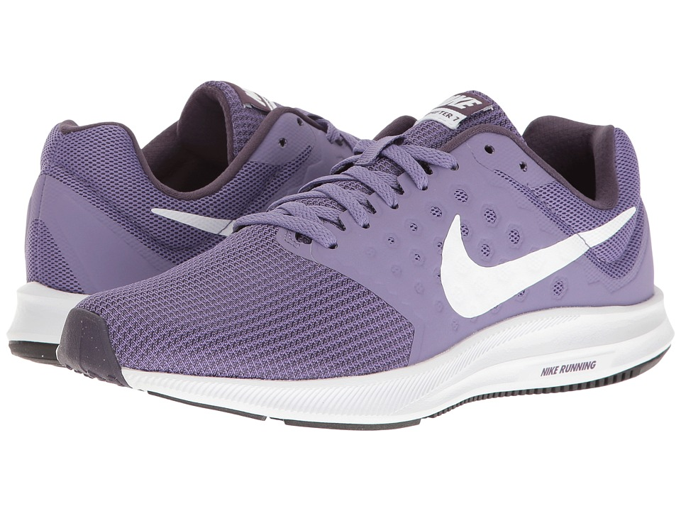 Nike - Downshifter 7 (Purple Earth/White/Dark Raisin/Black) Women's Running Shoes