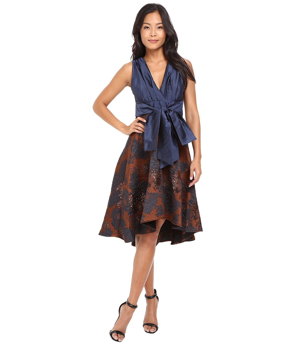 Eva by Eva Franco - Libby Dress (Rust Roses) Women's Dress