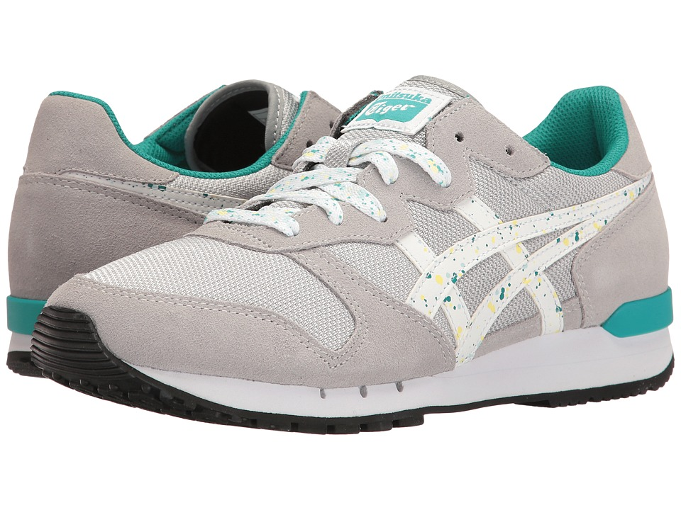Onitsuka Tiger by Asics - Alvarado (Mid Grey/White) Women's Shoes