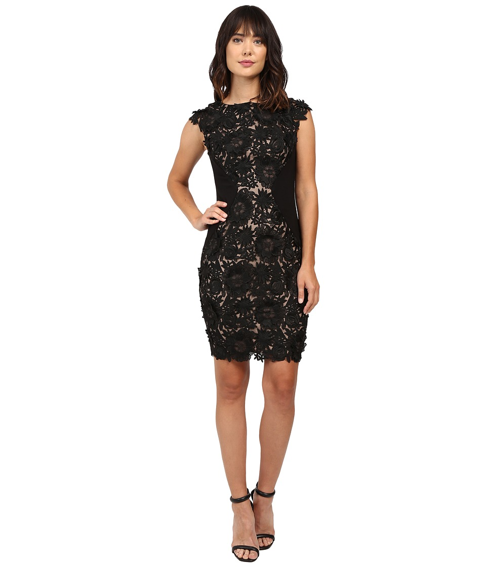 Eva by Eva Franco - Vixen Dress (Black Fizz) Women's Dress
