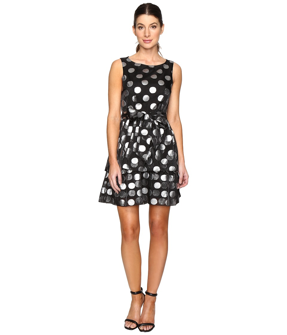 Eva by Eva Franco - Margaux Dress (Silver Dot) Women's Dress