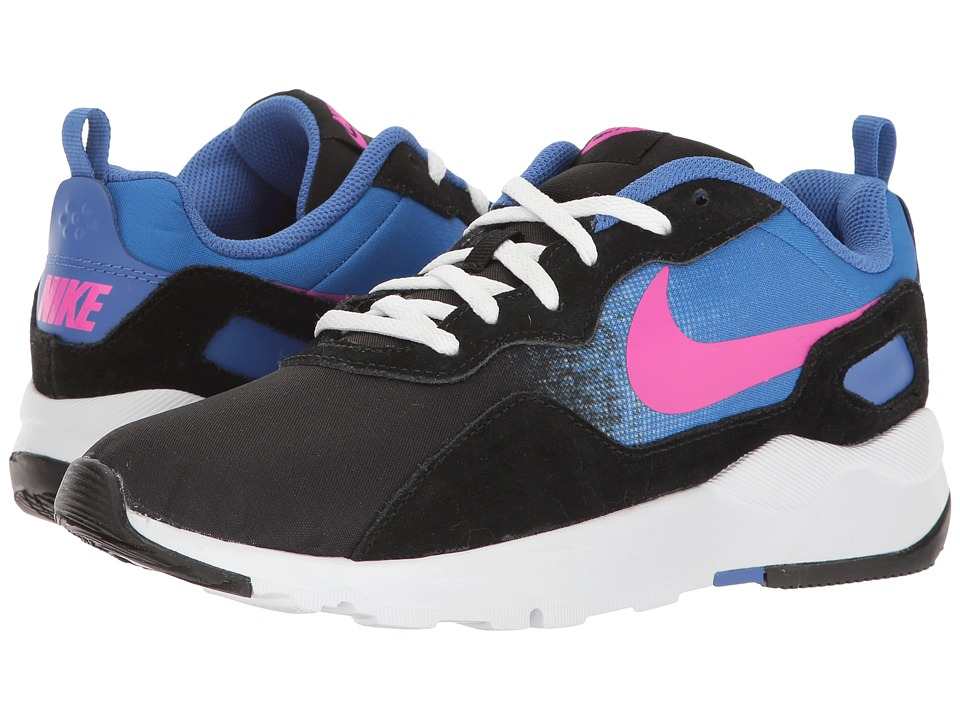 Nike - LD Runner (Black/Fire Pink/Comet Blue/White) Women's Shoes