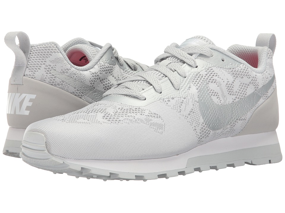 Nike - MD Runner 2 BR (Wolf Grey/Pure Platinum/White) Women's Shoes