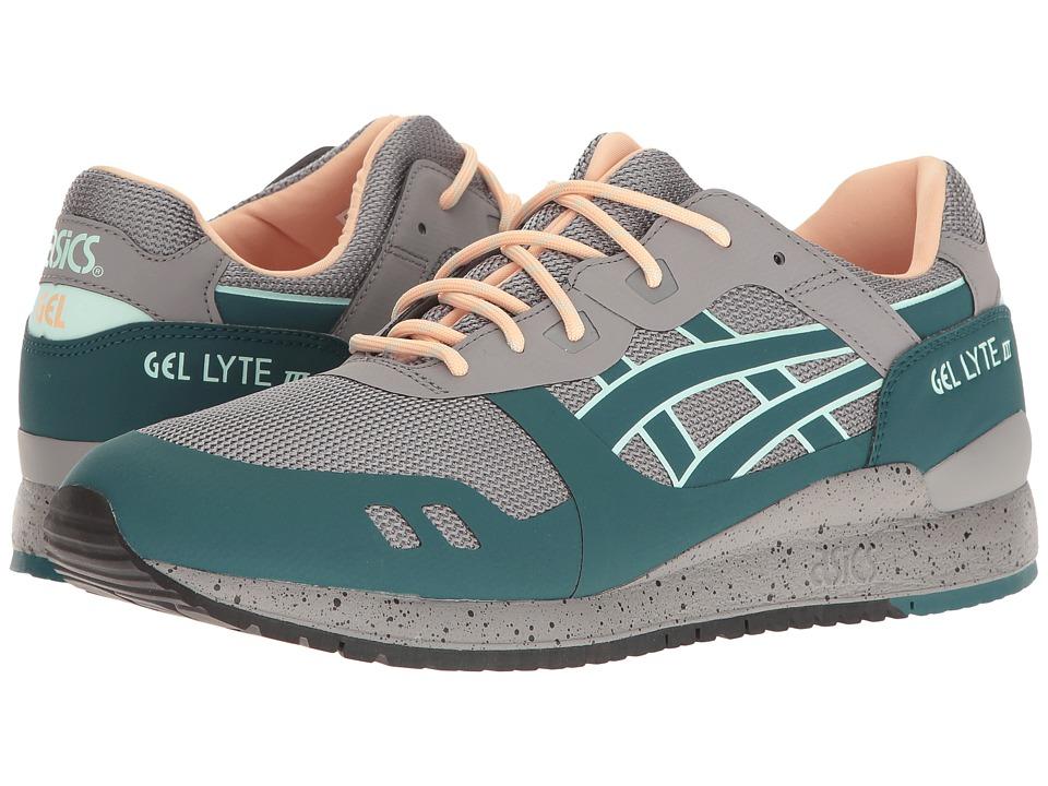 ASICS Tiger - Gel-Lyte(r) III NS (Aluminum/Deep Teal) Men's Shoes