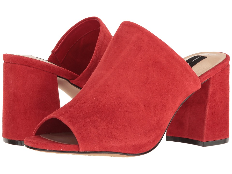 Steven - Fume (Red Suede) High Heels