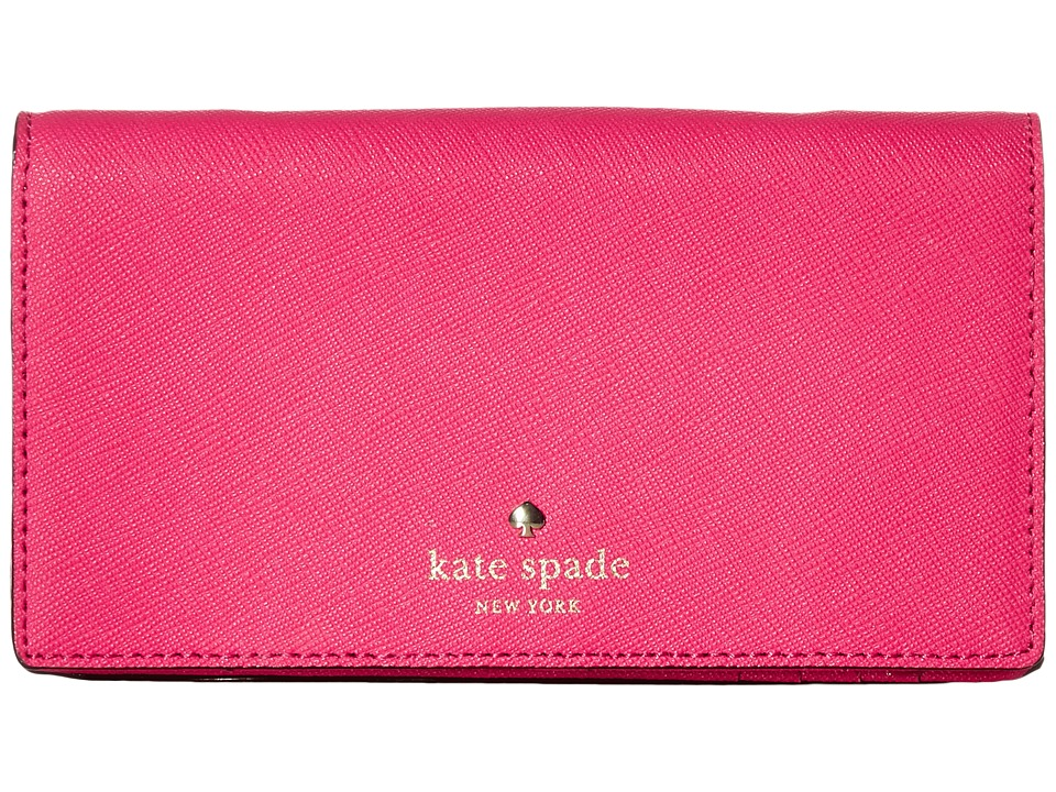 Kate Spade New York - Crossbody iPhone Case for iPhone 6 (Pink Confetti) Cell Phone Case