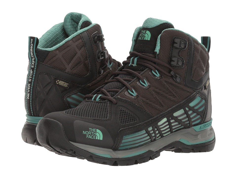 The North Face - Ultra GTX Surround Mid (TNF Black/Deep Sea) Women's Hiking Boots