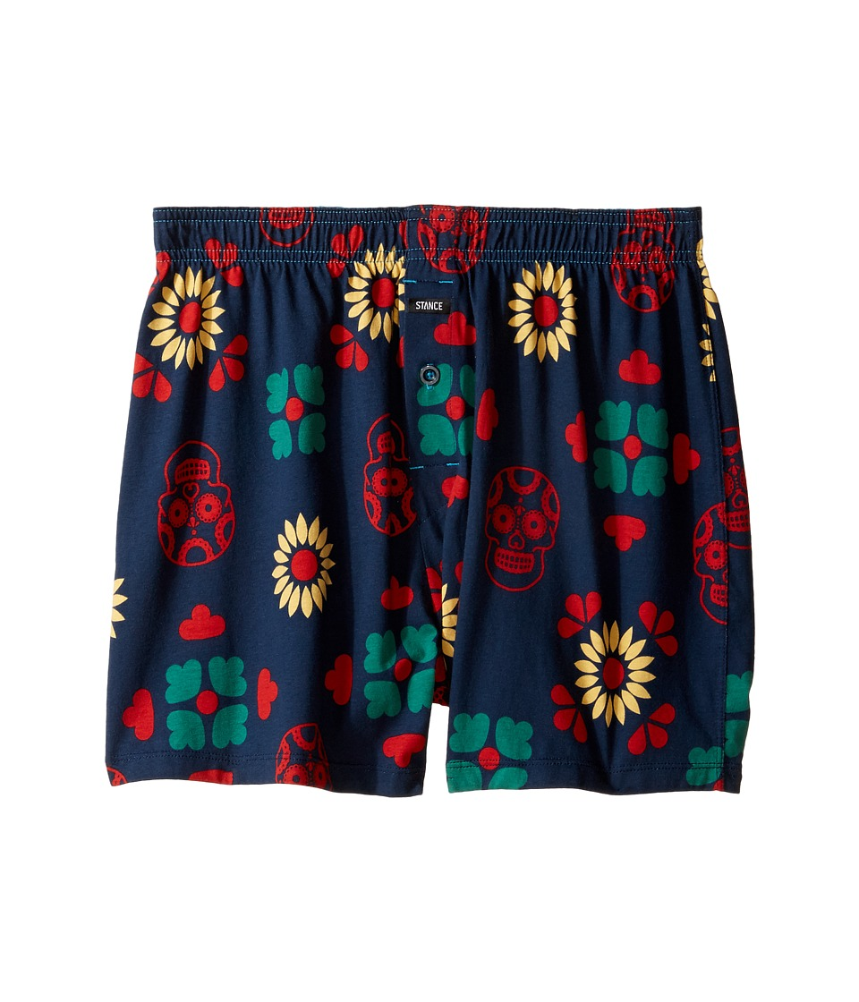 Stance - Los Muertos UW (Navy) Men's Underwear