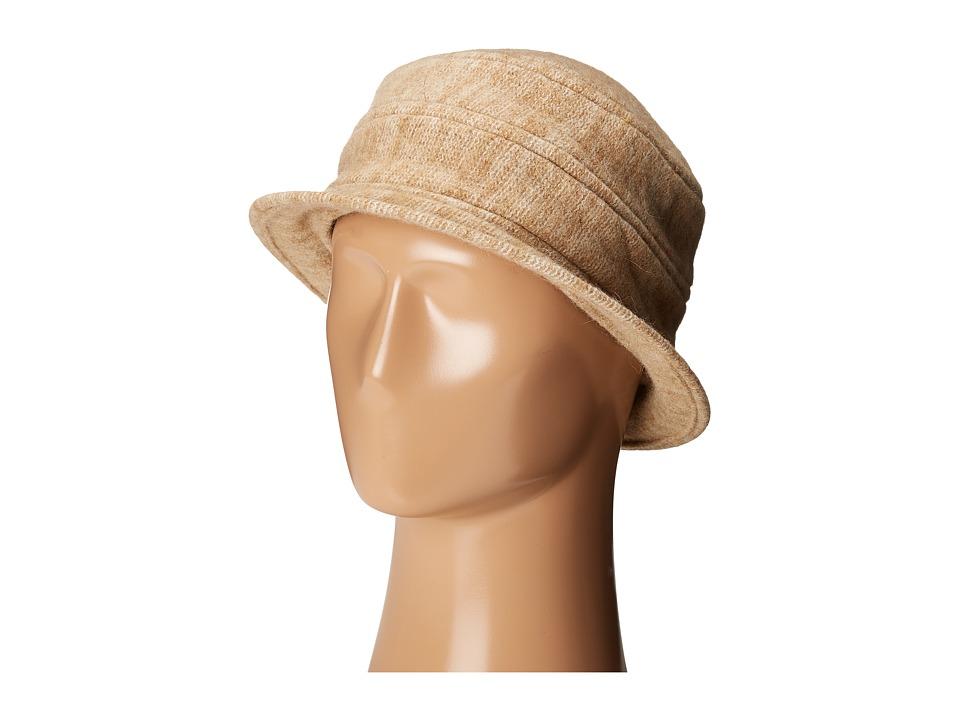 SCALA - Boiled Wool Melange (Camel) Traditional Hats