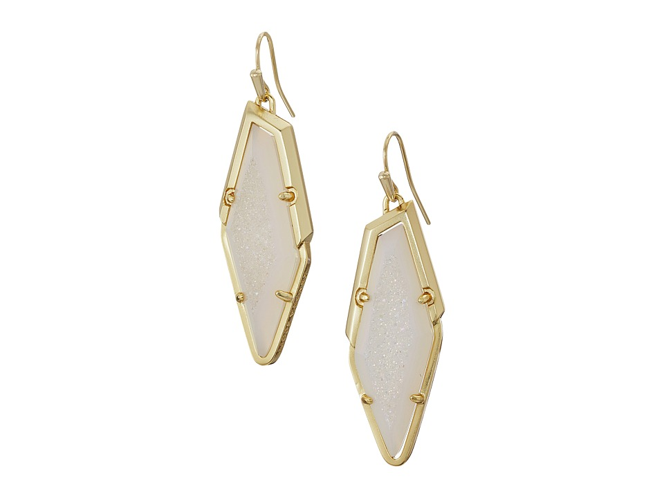Kendra Scott - Bex Earrings (Gold/Iridescent Drusy) Earring