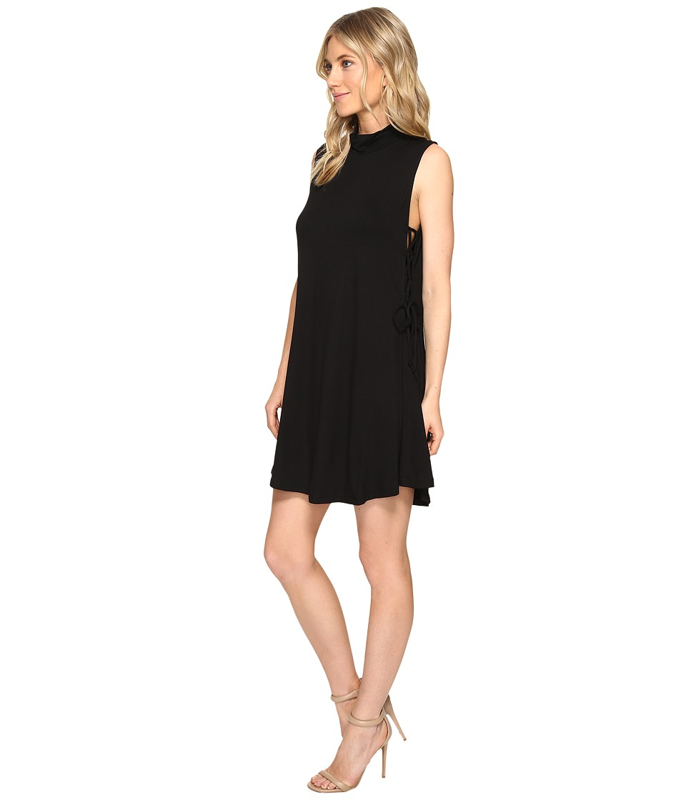 Culture Phit - Nola Sleeveless Dress with Tie-Up Sides (Black) Women's Dress