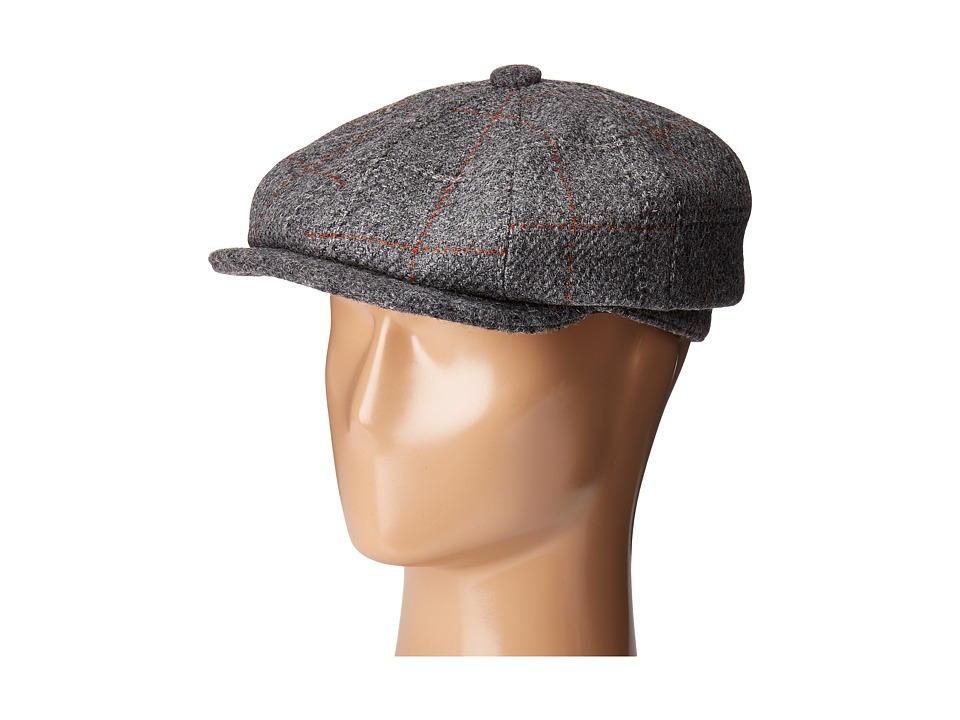Stetson - Italian Fabric 8/4 (Grey) Traditional Hats