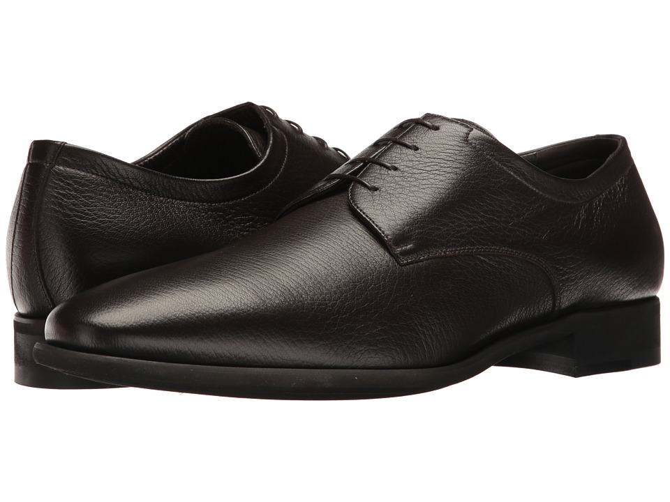 a. testoni - Deer Alo Derby (Dark Brown) Men's Shoes