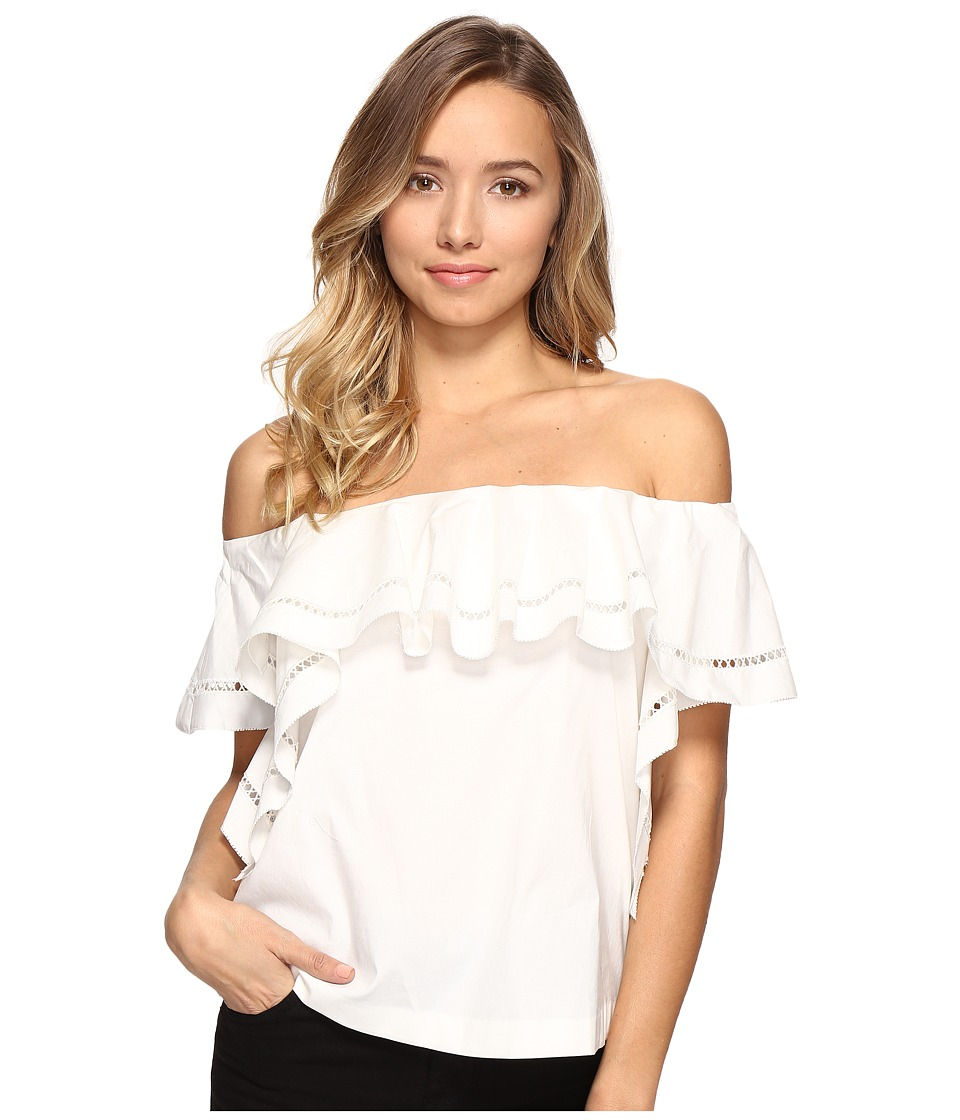 Rachel Zoe - Leanna Off the Shoulder Top (Ecru) Women's Clothing