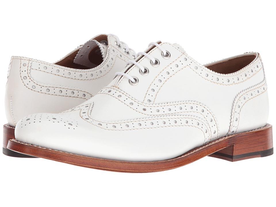 Grenson - Rose (White) Women's Shoes