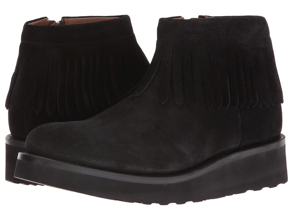 Grenson - Trixie Moccasin (Black) Women's Shoes