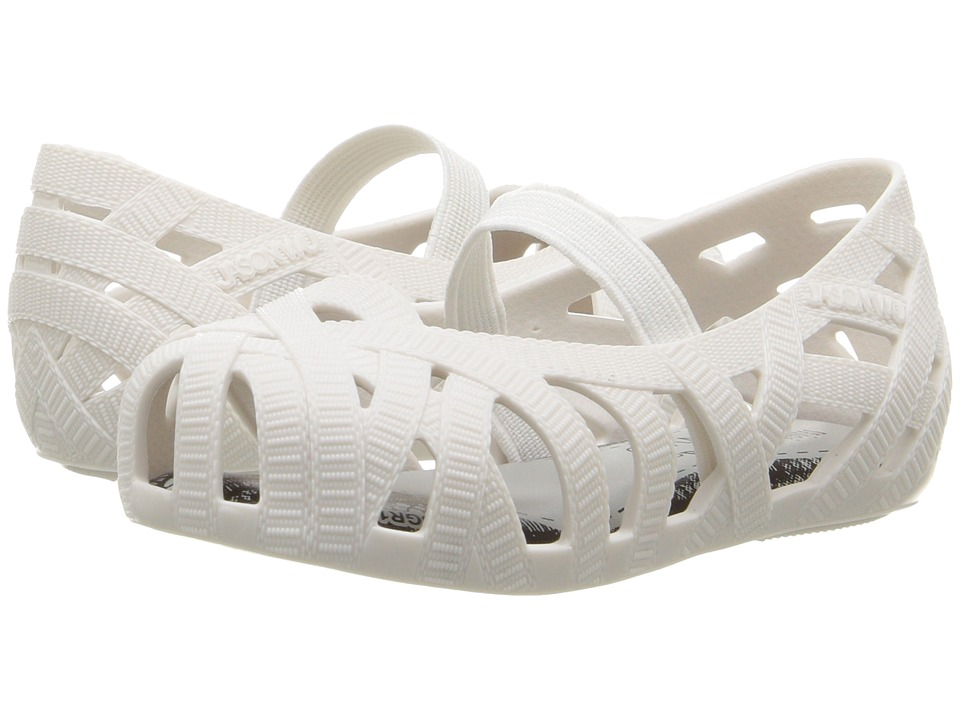 Mini Melissa - Mini Jean + Jason Wu (Toddler/Little Kid) (White) Girl's Shoes