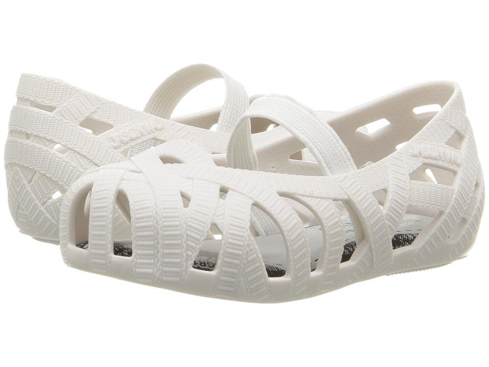 Mini Melissa - Mini Jean + Jason Wu (Toddler/Little Kid) (White) Girl's Shoes
