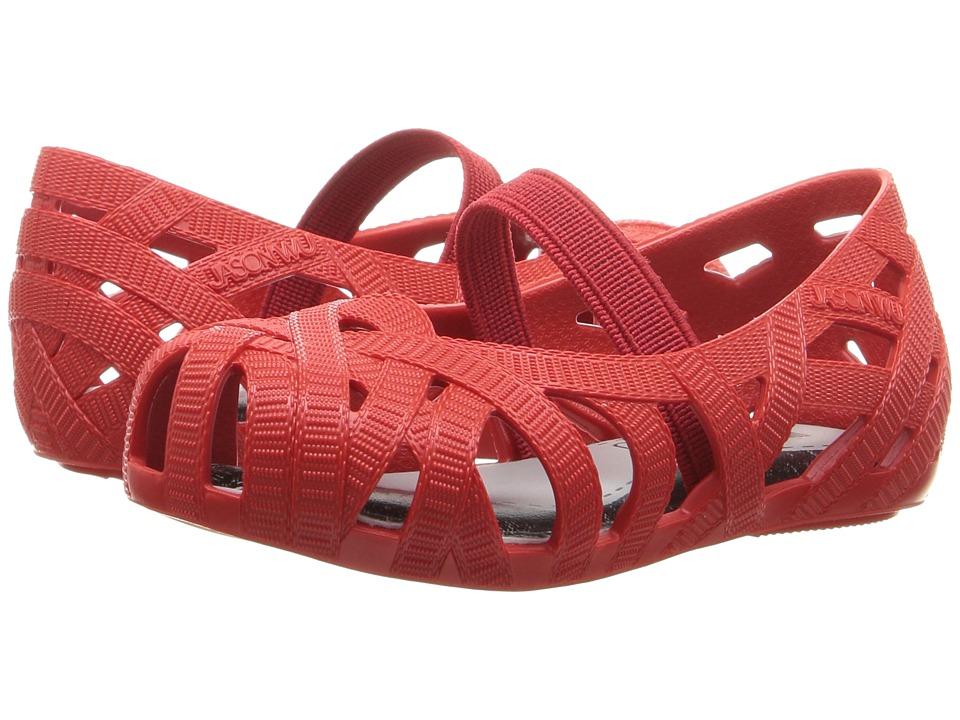 Mini Melissa - Mini Jean + Jason Wu (Toddler/Little Kid) (Red) Girl's Shoes