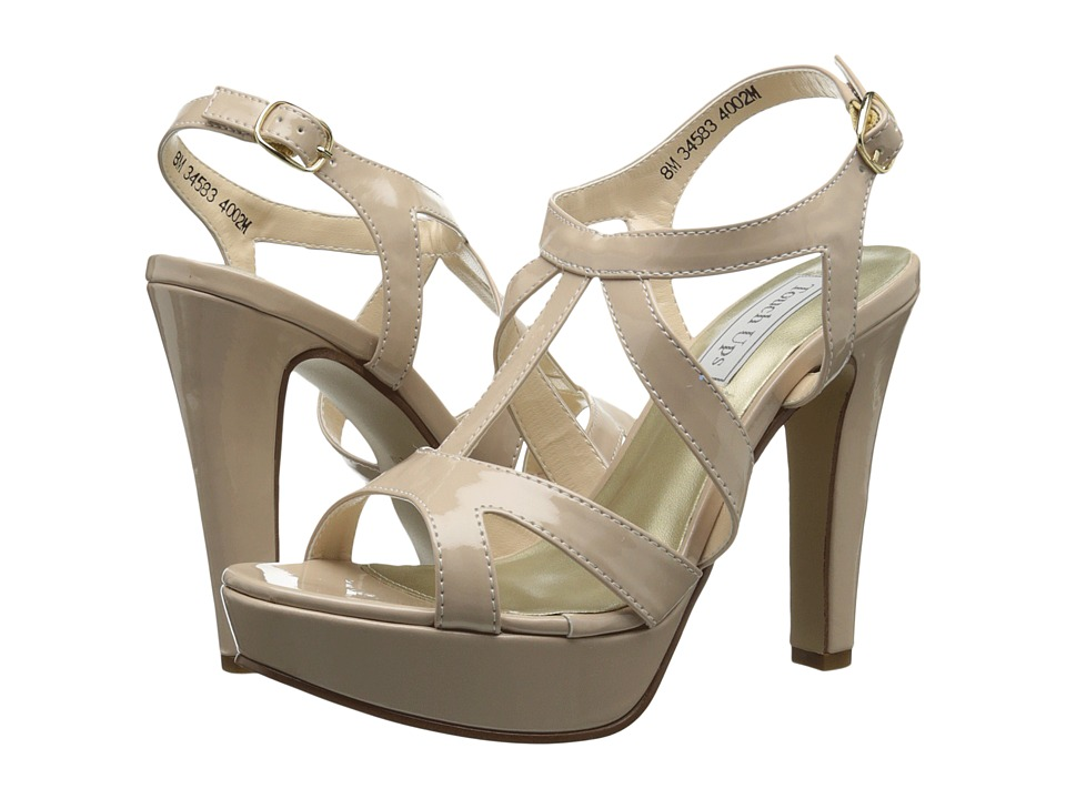 Touch Ups - Queenie (Nude Patent) Women's Shoes