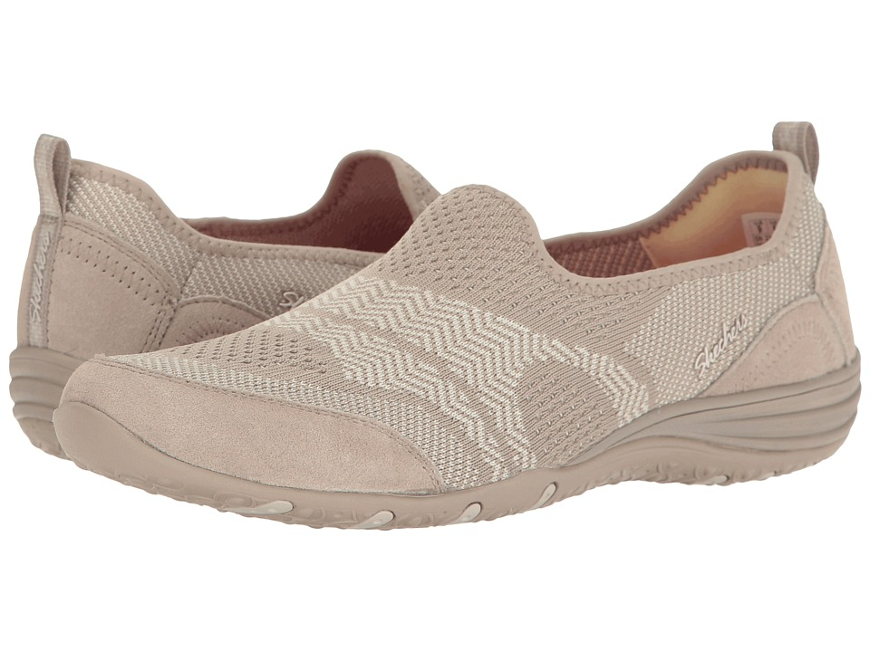 SKECHERS - Unity - Moonshadow (Taupe) Women's Slip on Shoes