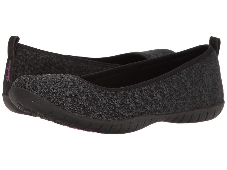SKECHERS - Atomic - Piece-of-Cake (Black) Women's Flat Shoes