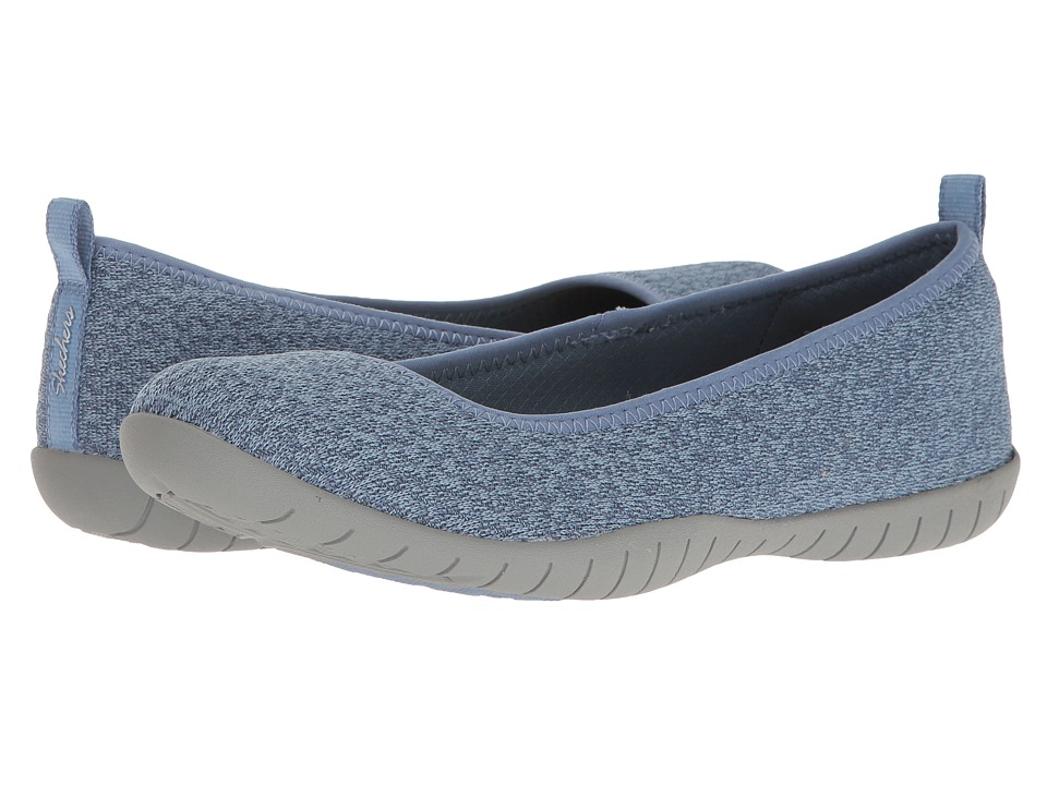SKECHERS - Atomic - Piece-of-Cake (Blue) Women's Flat Shoes