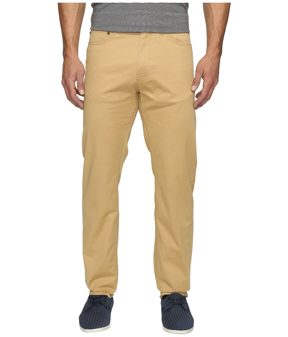 Dockers Men's - Corduroy Five-Pocket Straight (Golden) Men's Casual Pants