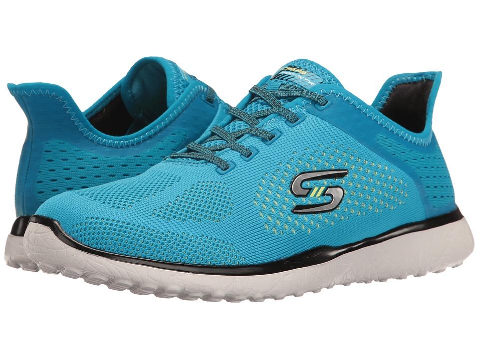 SKECHERS - Mircroburst - Supersonic (Blue/Black) Women's Lace up casual Shoes