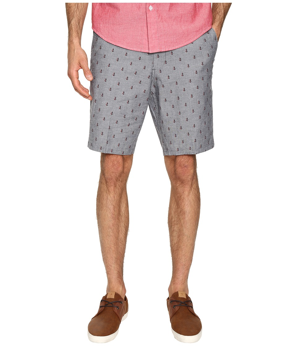 Dockers - Core Flat Front Straight Shorts (Morales A Good Red Paint) Men's Shorts