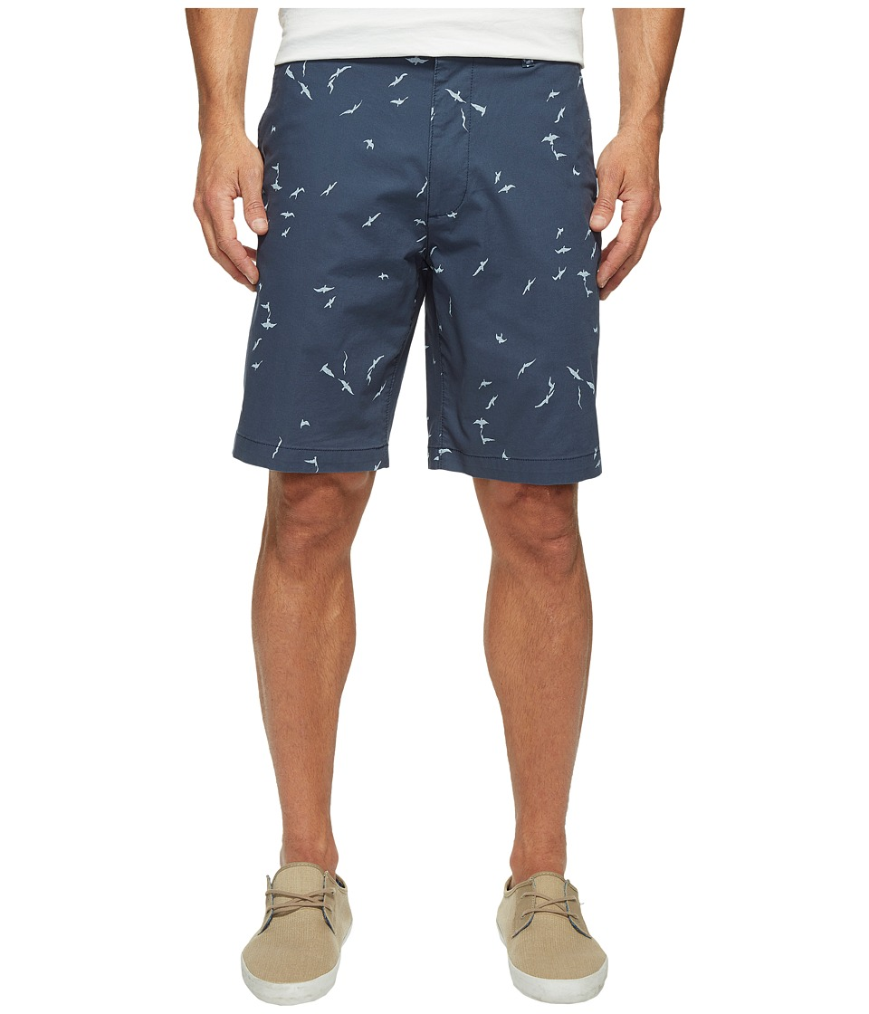 Dockers - Perfect Short Classic Fit Flat Front (Haynes Moonlit Ocean Stretch) Men's Shorts