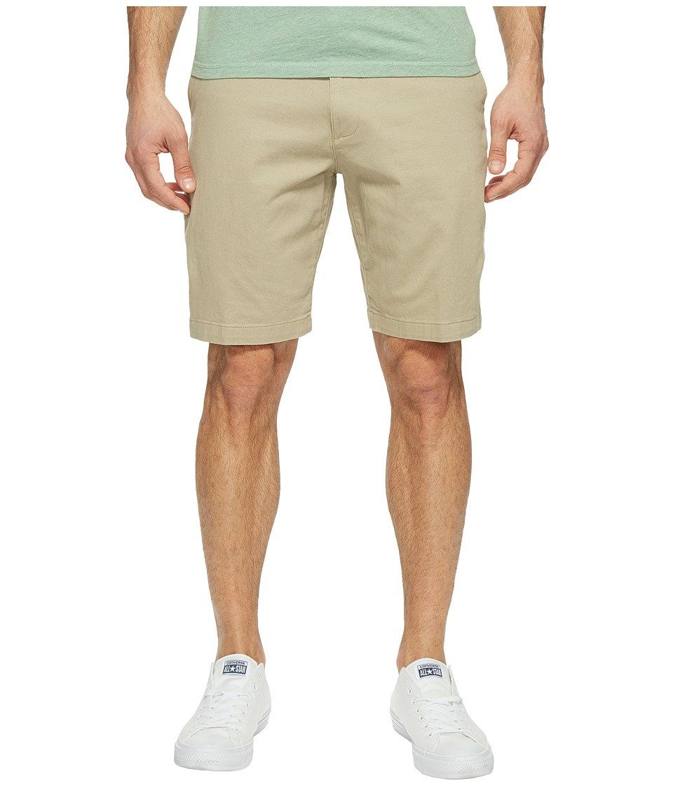 Dockers - Perfect Short Classic Fit Flat Front (Sand Dune Stretch) Men's Shorts