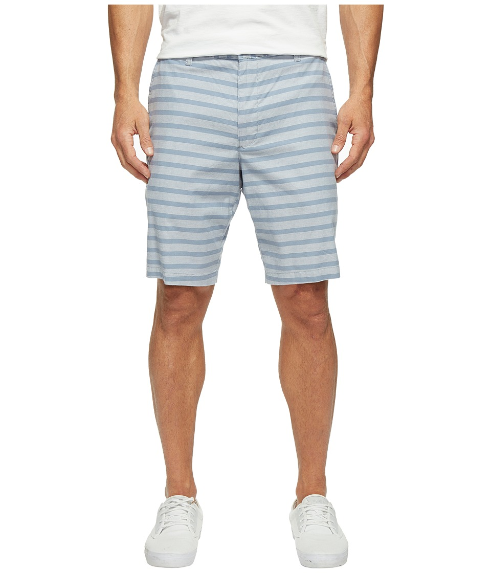 Dockers - Perfect Short Classic Fit Flat Front (Reyes Mok Blue Stretch) Men's Shorts