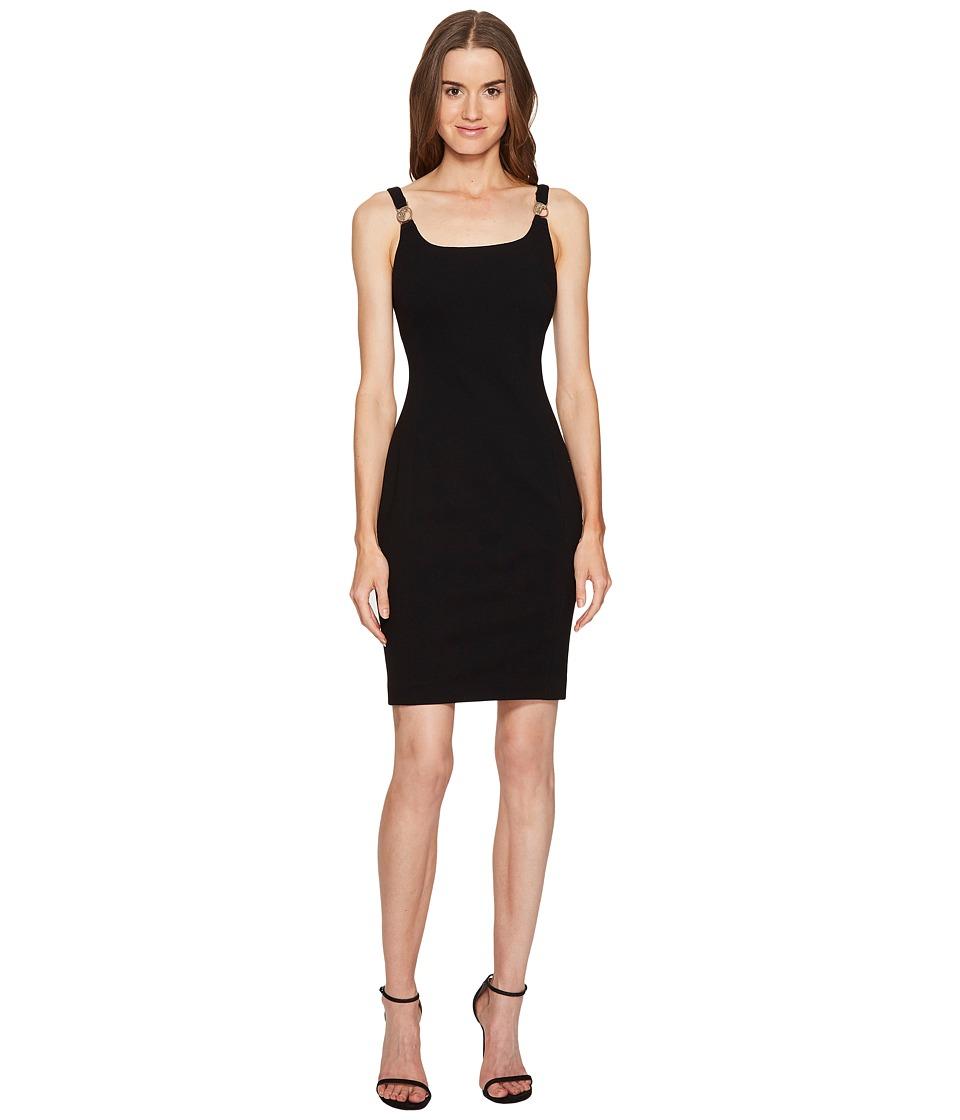 Versace Collection Stapless Jersey Dress (Nero) Women