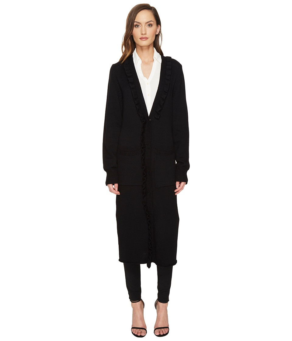 THOMAS WYLDE - Lydia - Long Cardigan (Black) Women's Sweater