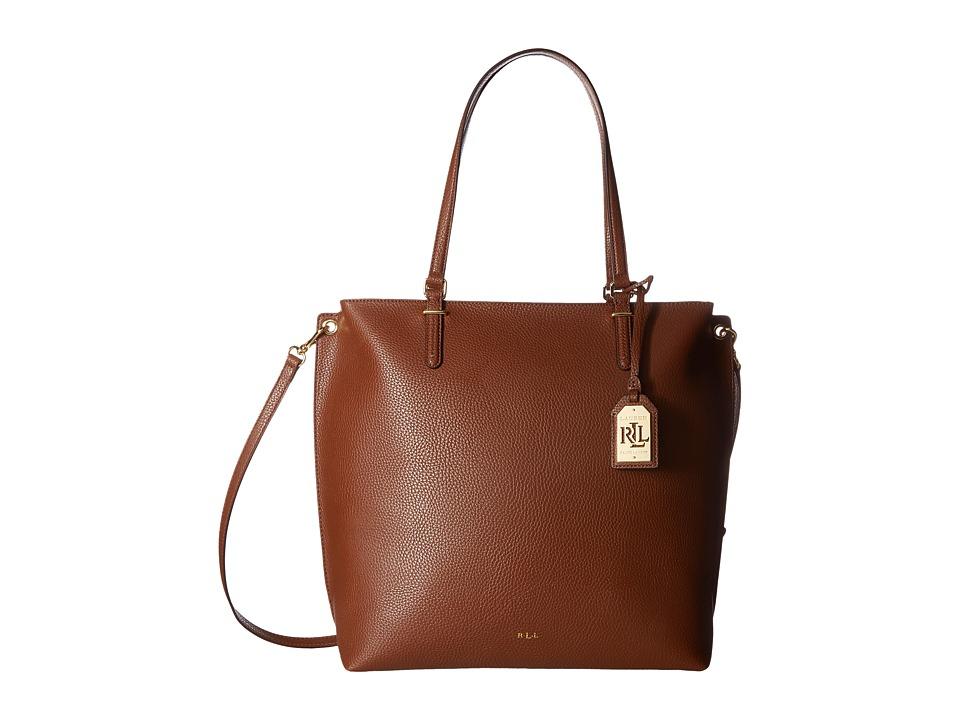 LAUREN Ralph Lauren - Anfield Abby Tote (Bourbon) Tote Handbags