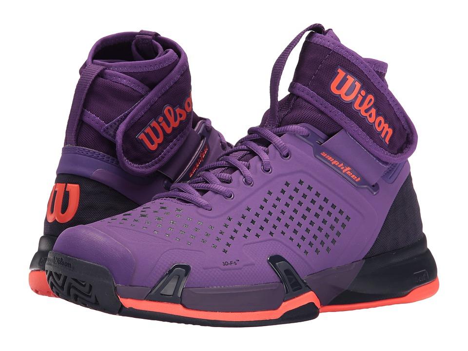 Wilson - Amplifeel (Tillandsia Purple/Evening Blue) Women's Tennis Shoes
