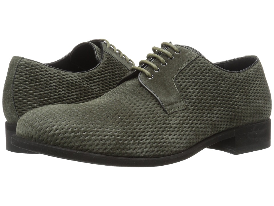 a. testoni - Net Suede and Casual Suede Derby (Uniform) Men's Shoes
