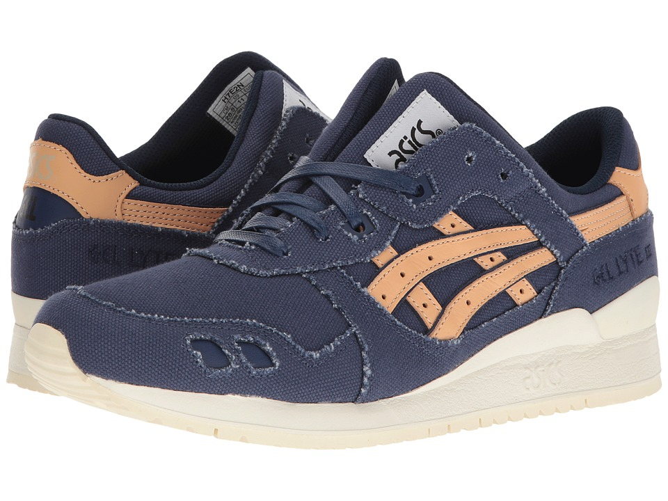 ASICS Tiger - Gel-Lyte(r) III (Indigo Blue/Tan) Men's Shoes
