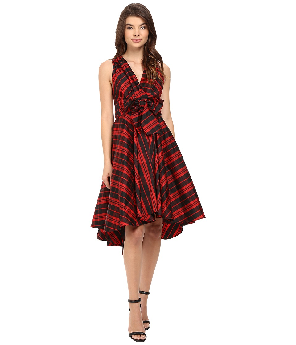 Eva by Eva Franco - Libby Dress (Red Plaid) Women's Dress