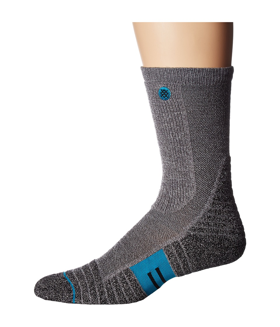 Stance - Class 5 (Charcoal) Men's Crew Cut Socks Shoes