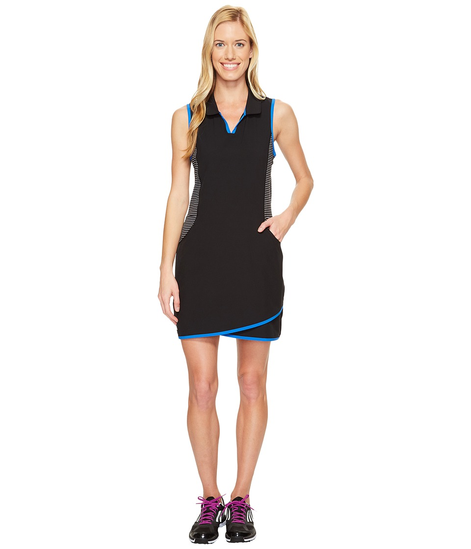 adidas Golf - Rangewear Dress (Black/Blue) Women's Dress