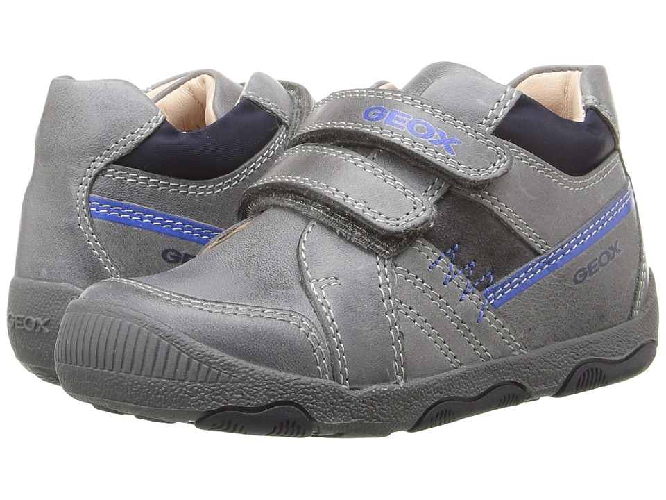 Geox Kids - Baby New Balu Boy 3 (Infant/Toddler) (Dark Grey) Boy's Shoes